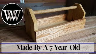 Watch more hand tool fun here http://vid.io/xoYa my daughter (7 years old) made a tool box with all hand tools including the carving