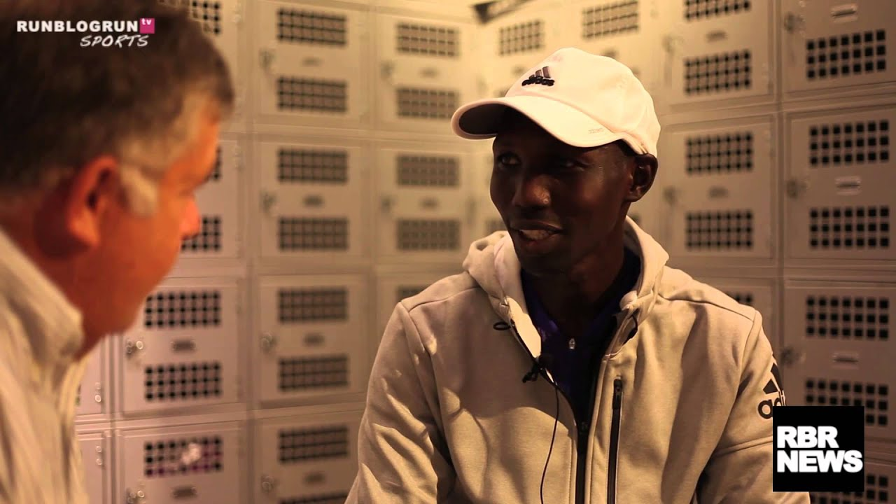 RBR Interviews Wilson Kipsang in NYC