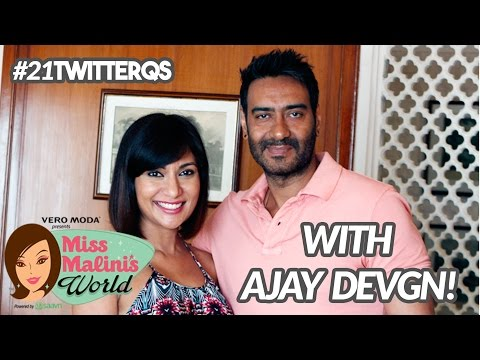 #21TwitterQs With Ajay Devgn!