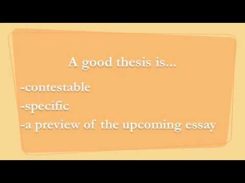 How To Write Thesis Statements For The Ap Lang Exam  Youtube