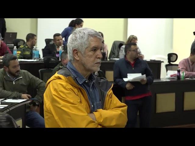 Consejo de seguridad por las protestas en Bogotá