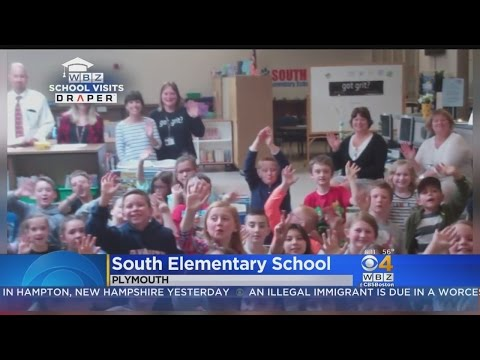 WBZ-TV Weather School Visits: South Elementary School In Plymouth, MA