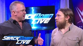 Shane McMahon and Daniel Bryan address attack by Owens & Zayn: SmackDown LIVE, Feb. 13, 2018