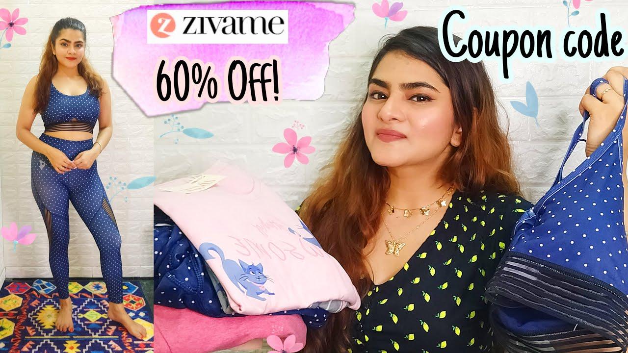 Zivame NIGHTWEAR & Activewear Haul | The Grand Lingerie Festive sale | SALE Upto 60% off | Shapewear