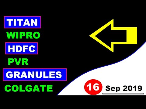 (wipro) (Titan) (PVR) (HDFC) (Granules) (COLGATE) Stock Market Today's news & updates Hindi by SMkC