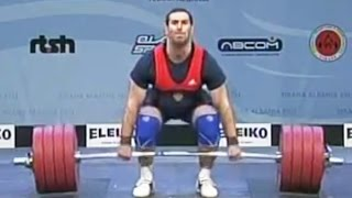 2013 European Weightlifting Championships, Men 105 kg \ Тяжелая Атлетика. Чемпионат Европы