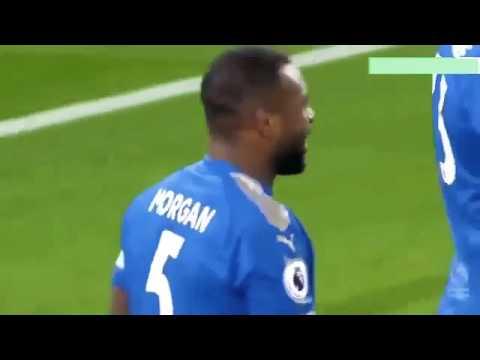 Jamie Vardy Goal vs Tottenham   29/11/17