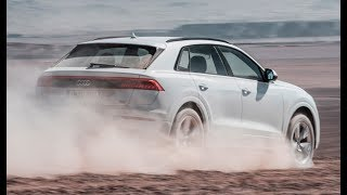 2019 Audi Q8 Off-road test drive