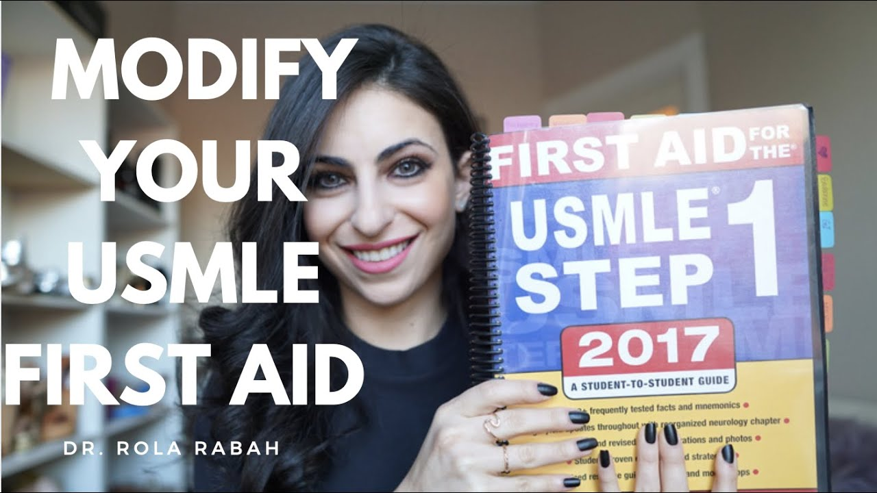 Modifying and using the USMLE First Aid Book: Study tricks for students!