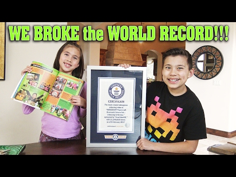 WE BROKE THE WORLD RECORD!!!