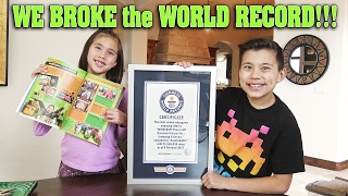 we broke the world record