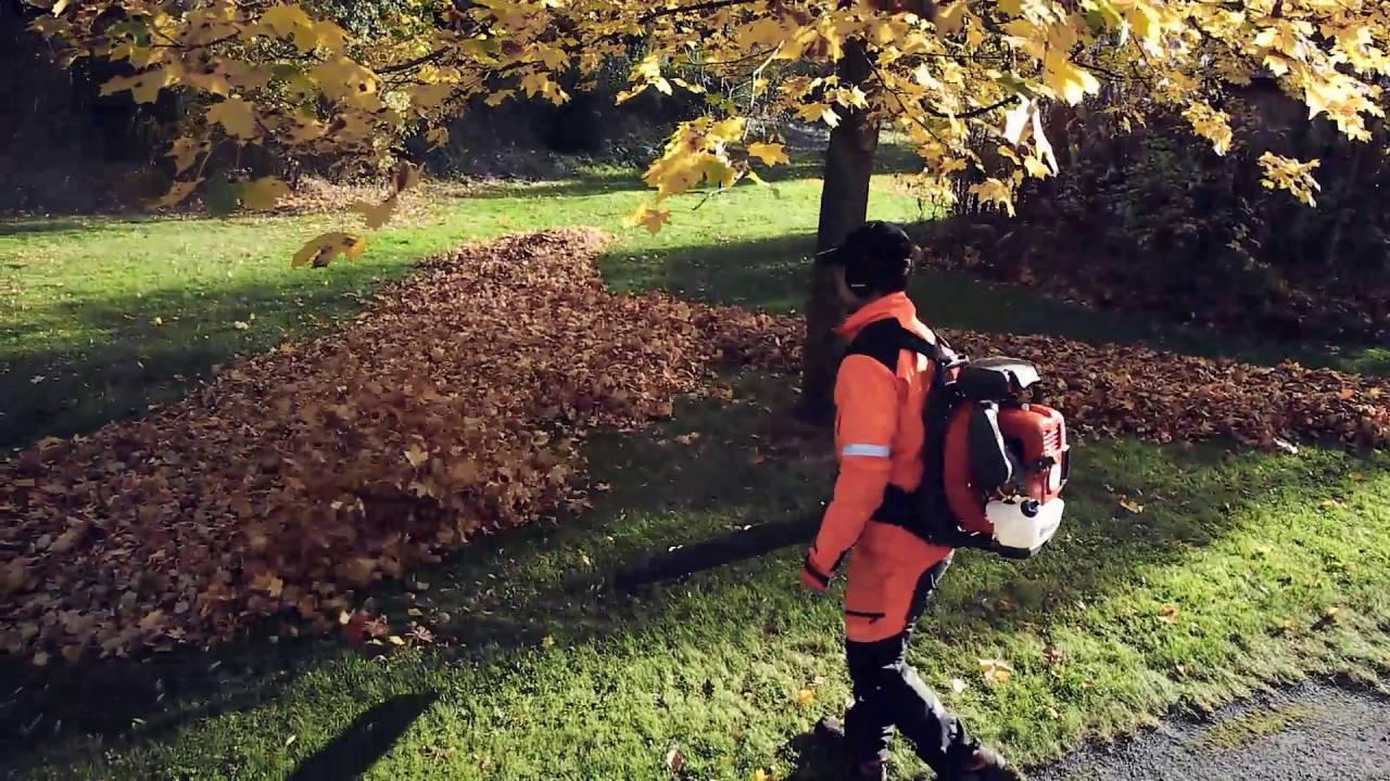 Comment travailler avec un souffleur de feuilles youtube - Souffleur de feuilles stihl ...
