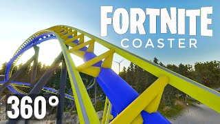 360 video | Roller Coaster Fortnite 360° VR Google Cardboard Virtual Reality PSVR