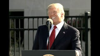 President Donald Trump AMAZING Speech at 911 Observance at the Pentagon