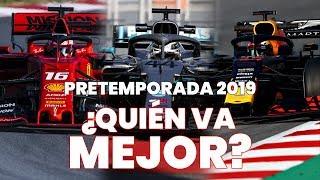 Pretemporada F1 2019 - Resumen de la primera semana