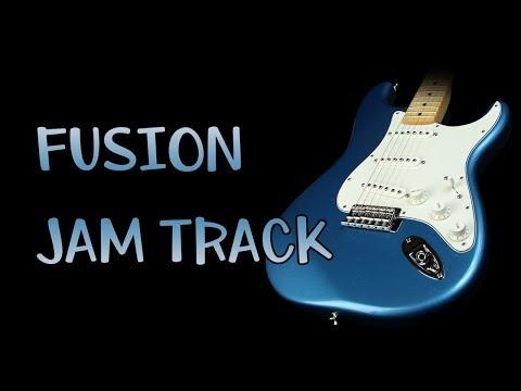 Jazz Rock Fusion 6/8 Guitar Backing Track Jam Modal