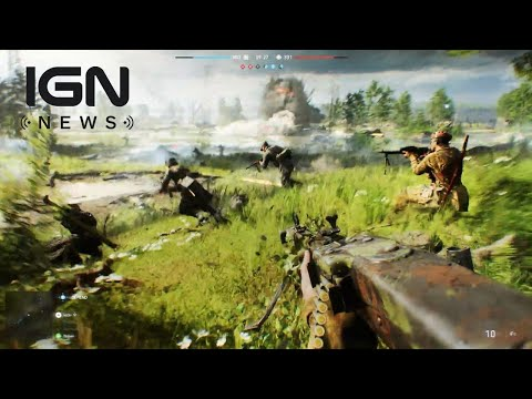 Battlefield 5 Trailer Featured 'In-Engine Footage', No Lootboxes - IGN News