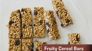 Snacks in a Snap Fruity Cereal Bars Thumbnail