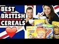 TOP 5 BRITISH CEREALS! 🇬🇧
