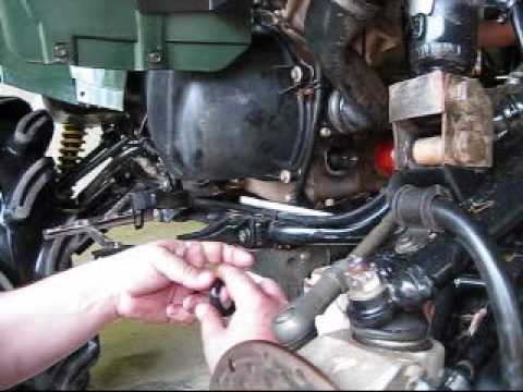 Force Ignition Switch Wiring Diagram Brute Force 750 Replacing Front Oil Seal Youtube