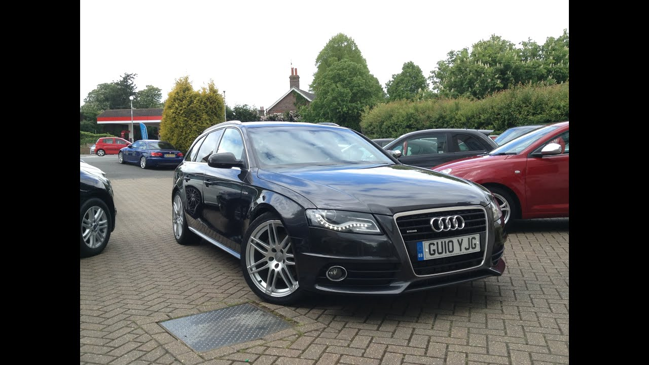 audi a4 avant 3 0 tdi s line tiptronic quattro 5dr sold at cmc cars near brighton sussex youtube. Black Bedroom Furniture Sets. Home Design Ideas