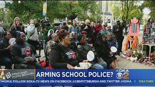 Proposal For Armed Guards At Pittsburgh Public Schools Sparks Protests