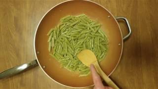 HOW TO COOK SPINACH PENNE RIGATE PASTA IN MUSSEL + OYSTER JUICE