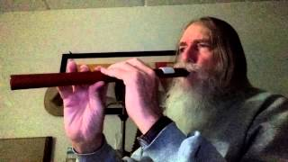 Sunset Time Again - Original Melody by Paul A. L. Hall on Native American Flute
