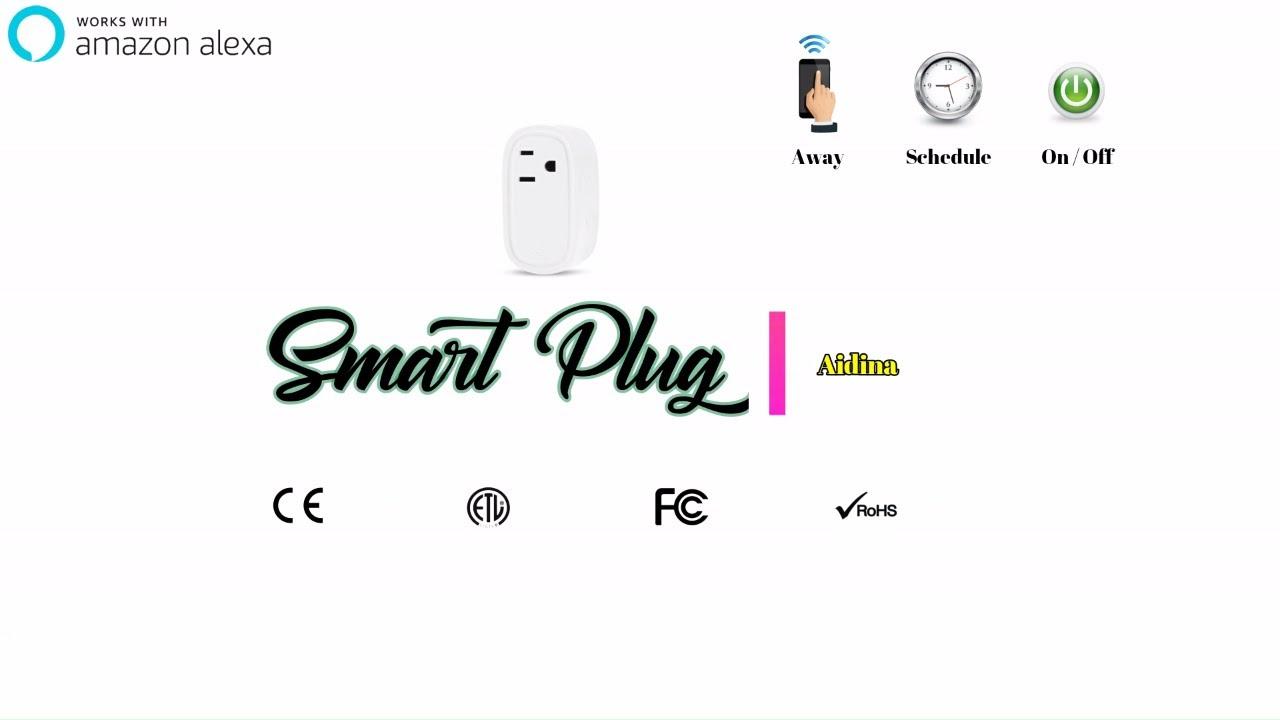 Amazon Alexa Smart Plug Unboxing, Setup, & Demonstration