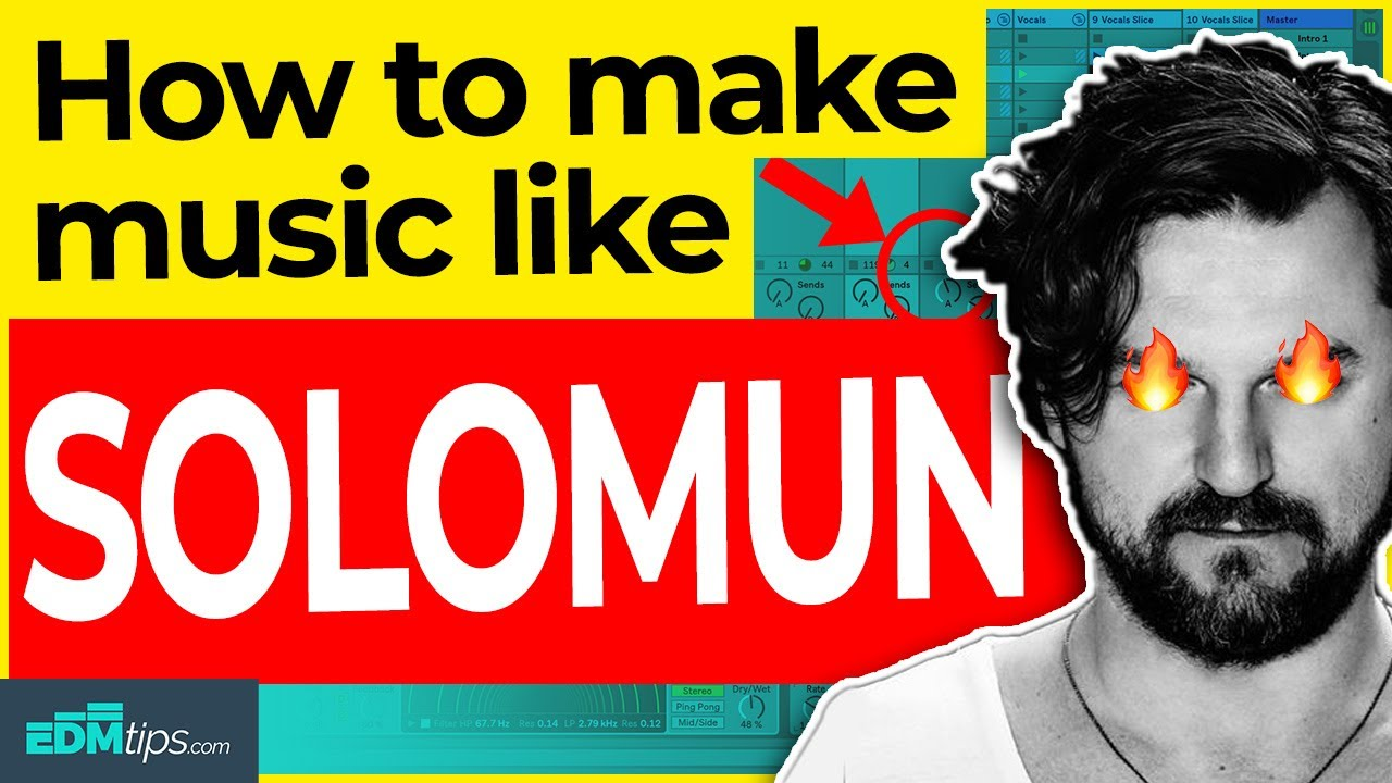How to Make TECHNO (Like SOLOMUN) – FREE Samples & Ableton Project...Nice! 🔥👊😎