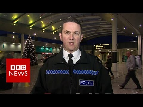 Gatwick Airport:  'The last confirmed sighting was 10pm last night' - BBC News