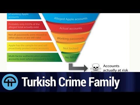 Turkish Crime Family iCloud Hack