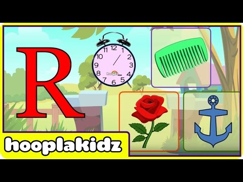 Learn About The Letter R - Preschool Activity