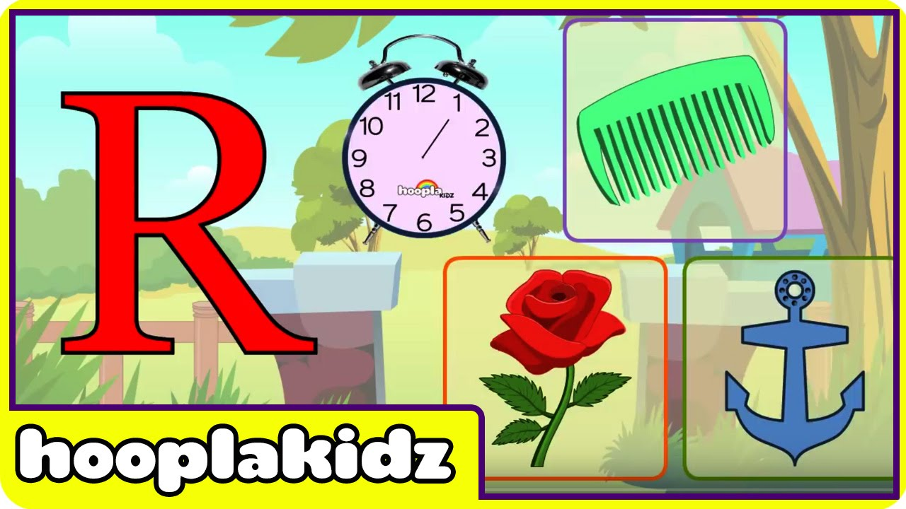 Learn About The Letter R - Preschool Activity - YouTube