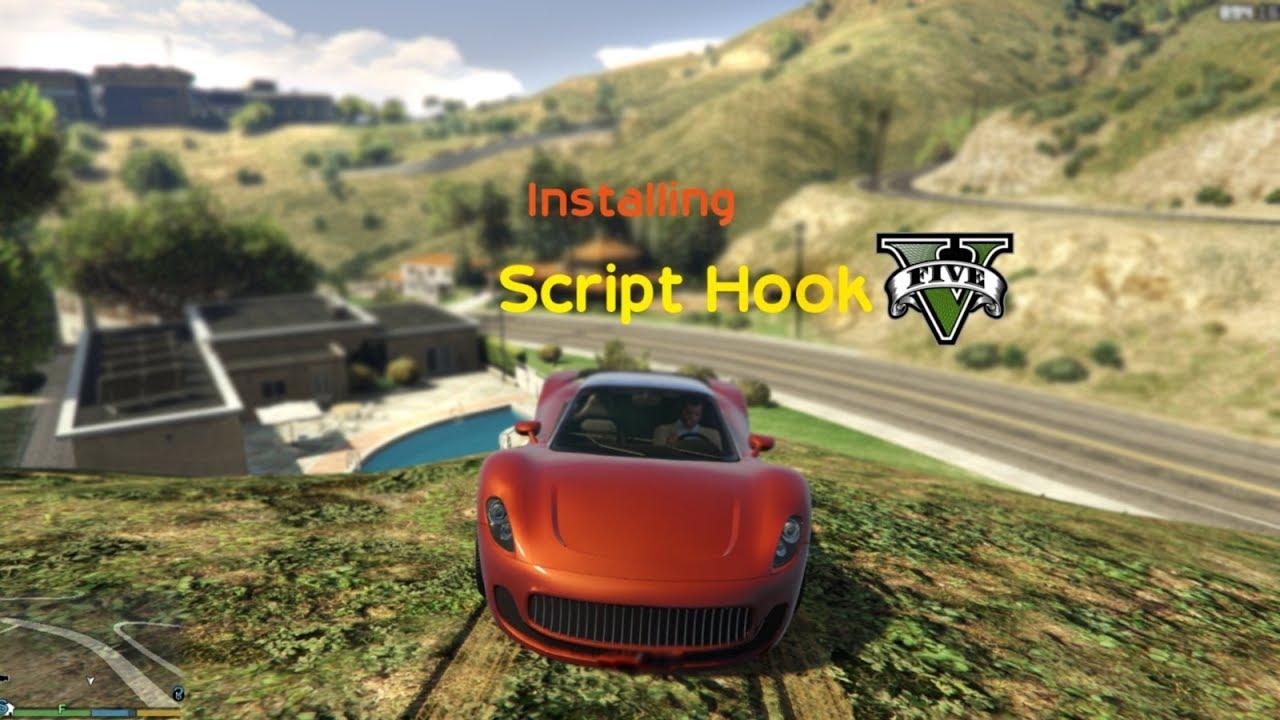 How to get the scripts folder in GTA V | Installing Scripthook V and  Scripthook V dot net | 1080p