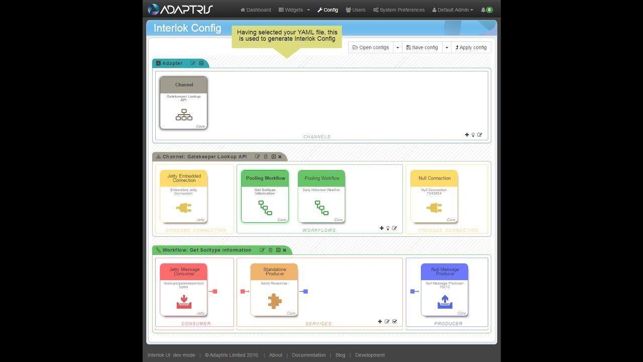 Generate Config from Swagger YAML | Interlok Documentation