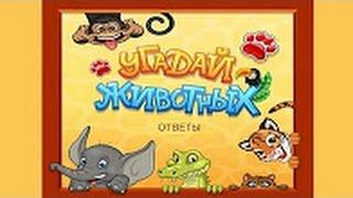 Ответы на игру Угадай животных  221-240 уровень