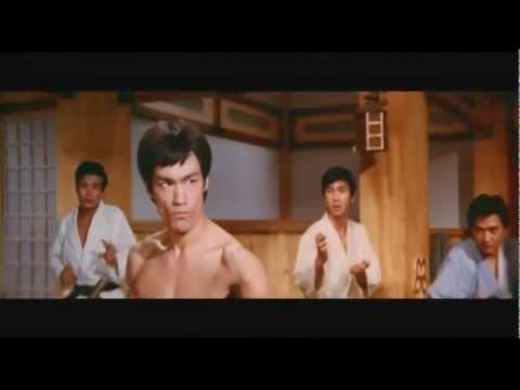 Bruce Lee Fist Of Fury - Classic Dojo Fight (HD)