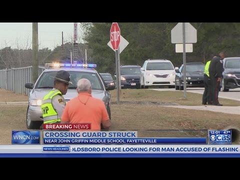 70-year-old crossing guard struck near Fayetteville middle school