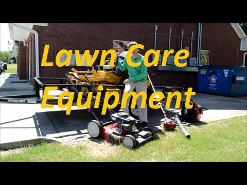Best Lawn Care Equipment Setup for 1, 2, or 3 people