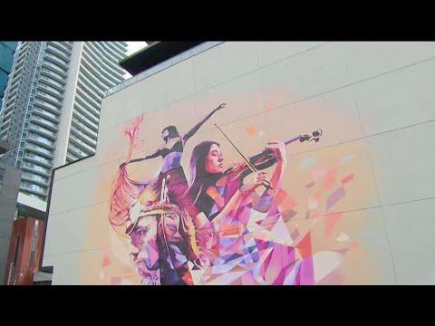Big Murals, Bold Vision For Toronto Street Art