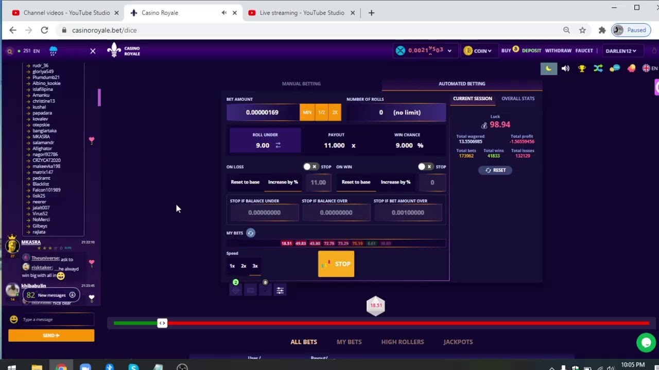 Primedice auto betting software marta nalazek msw betting