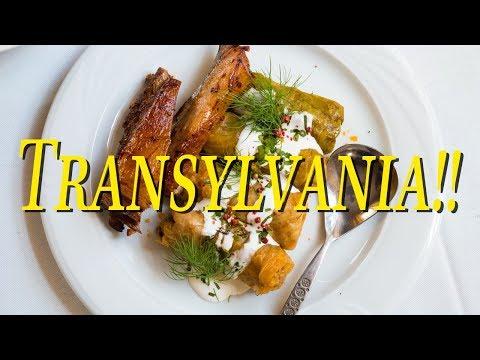 Romanian Food in Transylvania Romania