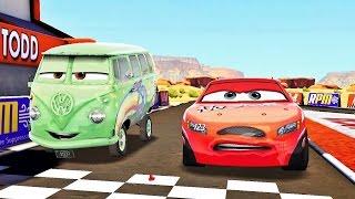 Arabalar Şimşek McQueen Hızı Süper Yarışlar Yapıyoruz (Araba Oyunu)