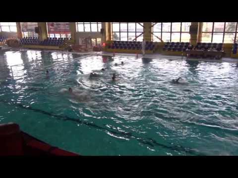 Ukraine - Slovakia 11-5 // Carpathians Cup 2014 // 22.03.2014 // Dembica, Poland // waterpolo