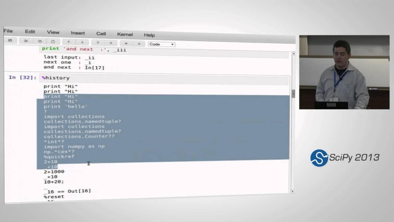 IPythonOverview slides