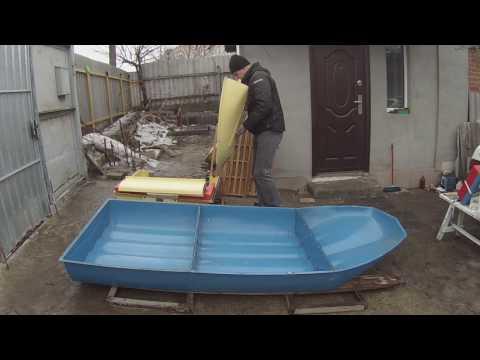 Лодка Романтика. Краткая видео-инструкция по разборке и упаковке.