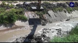 ضبط اعتداءات على قناة الملك عبد الله في مناطق مرور القناة
