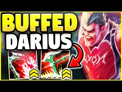 THESE NEW DARIUS BUFFS MAKE HIM RIDICULOUSLY BROKEN! WTF IS THIS NEW CHAMPION!? - League of Legends