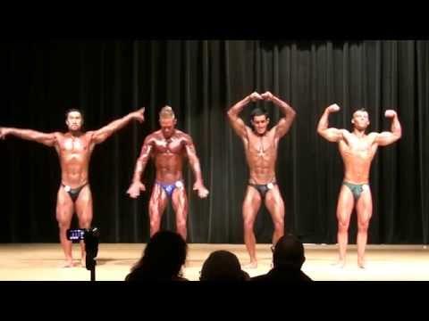 2013 NPC All South Men's Bodybuilding Lightweight Prejudging